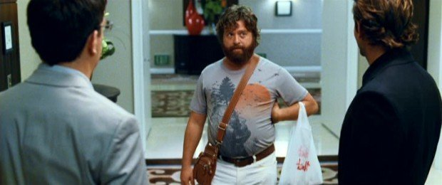 Alan from the hangover the perfect Omega male example
