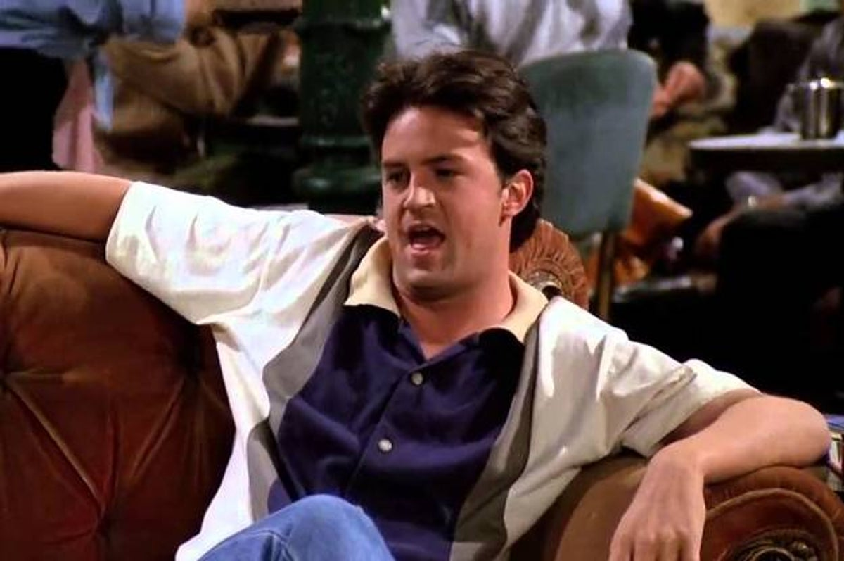 another perfect example of a Beta male chandler bing from friends