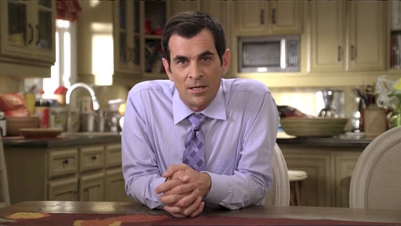 famous zeta male example is Phil from modern family