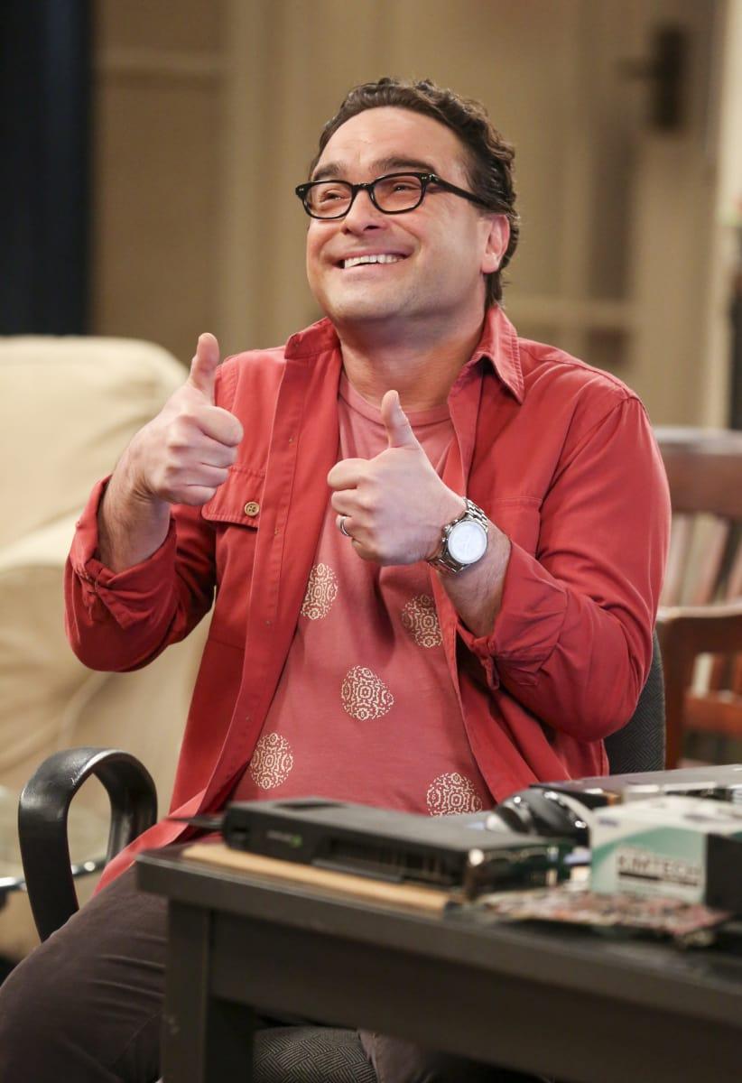 Leonard from Big Bang Theory Beta male example